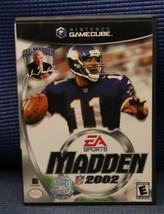 Madden NFL 2002 (Nintendo GameCube, 2001) - Complete - $5.83