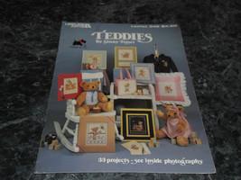 Teddies by Ginny Fraser Leaflet 348 Leisure Arts - $2.99
