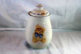 "Tienshan Country Bear Country Tea Canister 6 1/2"" - $9.00"