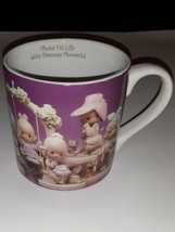 Moms Fill Life With Precious Moments Large Tall Coffee Mug by 1995 Mother's Day - $17.81