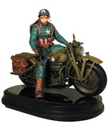 Gentle Giant Studios Ultimate Captain America on Motorcycle Statue - $411.50