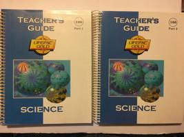 Alpha Omega Lifepac 100 Science Grade 1 Teacher's Guide Part 1 & 2 Set AO - $14.84