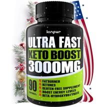 Ketoburn 3000mg Ultra Fast Keto Boost, Keto Fat Burner Dietary Supplemen... - $28.49