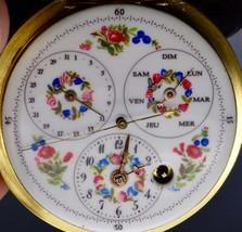 MUSEUM Renaissance Verge Fusee Calendar/Central seconds hand,Repousse ca... - $6,930.00