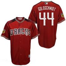 New Men's Arizona Diamondbacks 44# Paul Goldschmidt Red Capri Jersey Mlb - $40.50