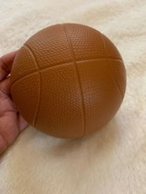 Homco Home Interiors Sports Ball Wall Decor Brown Basketball  Pre-owned Vtg - $18.70