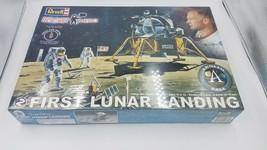 NEW Revell 2009 First Lunar Landing Buzz Aldrin Rocket Hero 1:48 Scale M... - $59.39