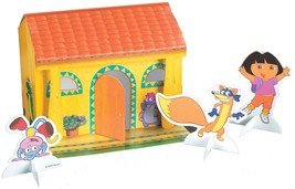 """Dora and Friends Stand Up House Table Decorating Centerpiece 8.75"""" x 9.1... - $2.92"""