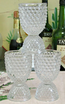 Westmoreland American Hobnail Double Egg Cups Set Of Three - $15.84