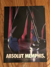 Absolut Memphis City Original Magazine Ad - $2.99