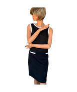 Isaac Mizrahi for Target Sleeveless Little Black Shift Dress Size 12 - $14.99