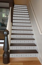 Grey Mosaic Tile, 10 Risers, 43 inches wide - $78.00