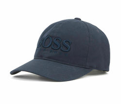 Hugo Boss Men's Casual Cotton Twill Cap Hat With 3D Embroidered Logo image 6