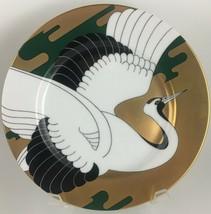 Fitz & Floyd Golden Tancho Stork (D) Salad plate - $16.00