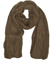 Peach Couture Warm and Cozy Unisex Chunky Hand Knit Long Scarf - $13.04 CAD+