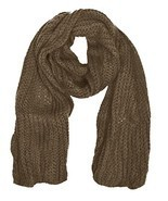 Peach Couture Warm and Cozy Unisex Chunky Hand Knit Long Scarf - £7.79 GBP+