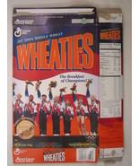 MT WHEATIES Cereal Box 1996 12oz USA OLYMPIC TEAM Women's Gymnastics [G7... - $6.38