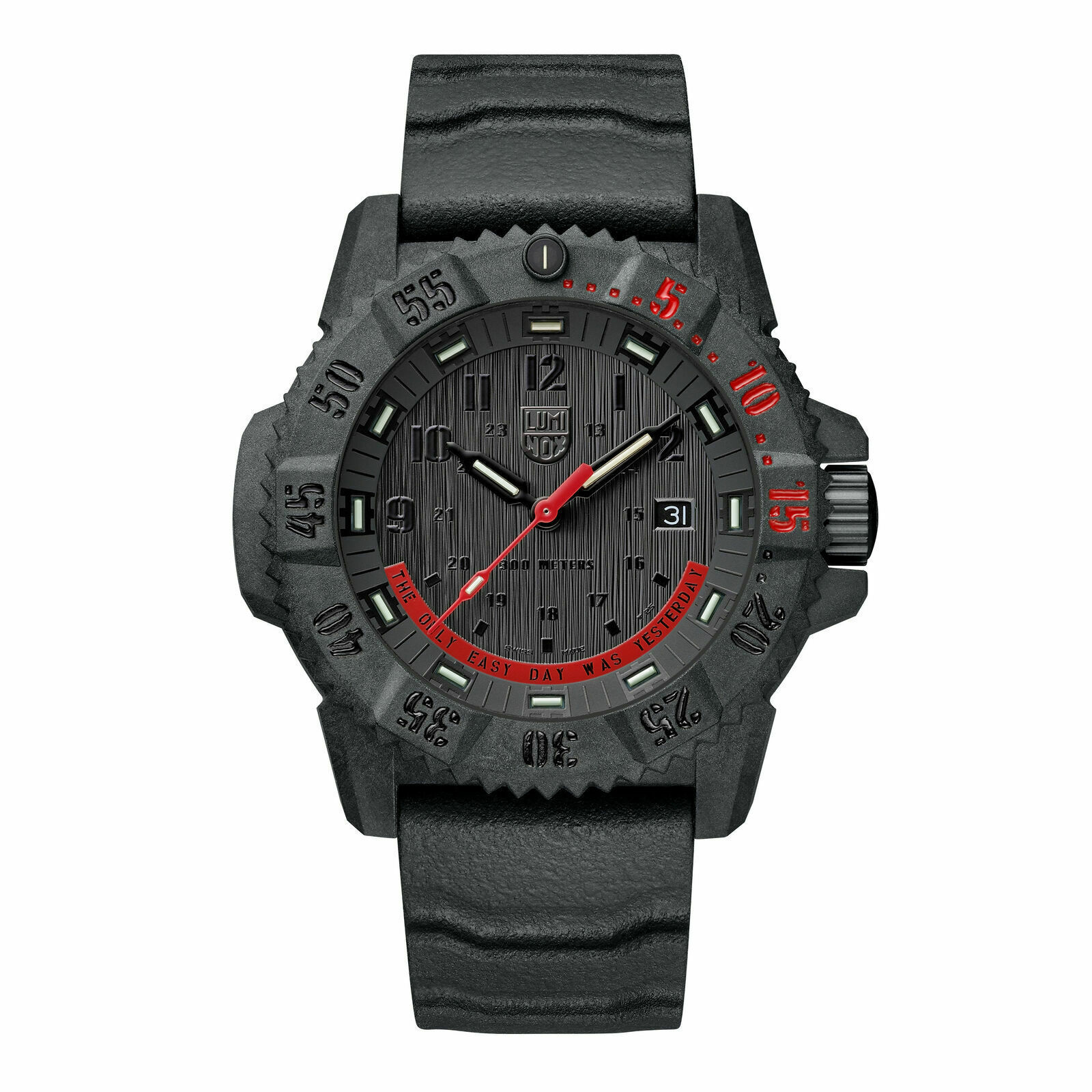 Luminox XS.3801.EY Master Carbon Seal, 1 13/16in, Military / Diver Watch 30ATM