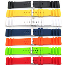 Mens Ladies Divers Watch Strap For SEIKO CITIZEN Sport PU/Rubber Waterpr... - $10.34