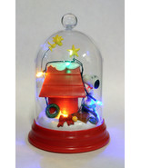 KURT S. ADLER PEANUTS SNOOPY LIGHT-UP DOME TABLETOP CHRISTMAS DECORATION - $28.88