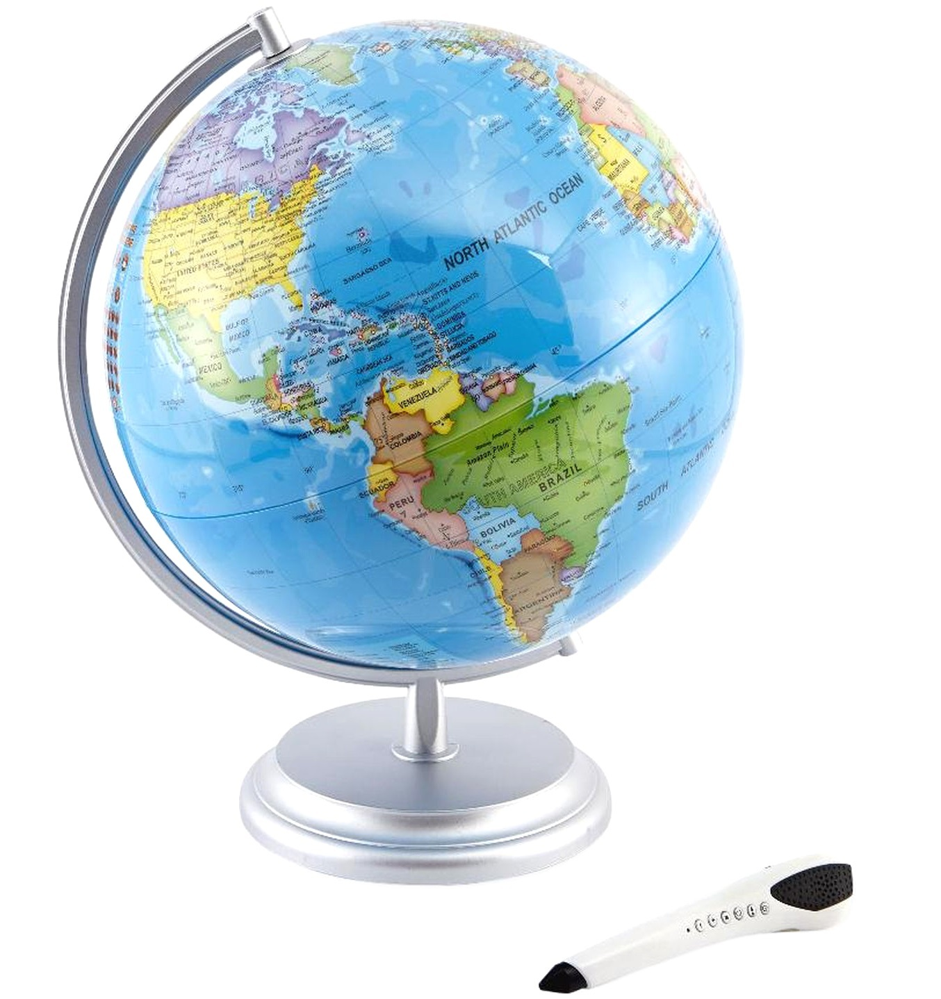 Edu Science Interactive Globe World with Smart Pen Brand New Factory Sealed NIB