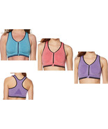Copper Fit Zip-Front Seamless Sports Bra - $14.39