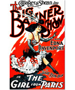The Big Banner Show the Girl From Paris Vintage Theater Poster Reproduction - $32.99+