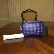 NWT Marc by Marc Jacobs Sally Perforated Crossbody in Blue Depths - $140.24