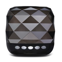 YZS - 05 Mini Wireless Bluetooth Stereo Speaker LED(BLACK) - $28.47