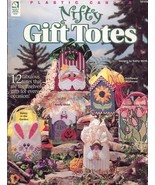 Nifty Gift Totes 12 Designs Plastic Canvas PATTERN/INSTRUCTIONS - $2.67