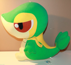 "JAPAN 14"" Snivy Pokemon Plush Doll Best Wishes Banpresto 2010 47280 - $55.63"