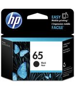 Black Ink - HP 65 Standard Ink Cartridge (for DeskJet 2220/2255/3720/3755) - $32.99