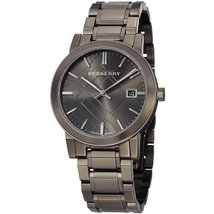 Burberry BU9007 Dark Nickel Men's Wristwatch - $423.08