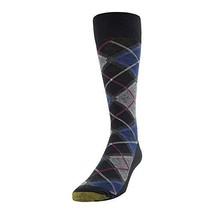 Gold Toe Men's Patterned Fashion Dress Crew (Shoe Size: 6-12.5 Tartan Pl... - $364,61 MXN