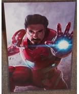 Iron Man Tony Stark Glossy Art Print 11 x 17 In Hard Plastic Sleeve - $24.99