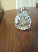 2 Antique Cut Glass Crystal Knife Rests - $29.70