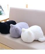 Cat Plush Stuffed Cushion Back Pillow Shadow Filled Animal Stayreal Ashin - $18.95