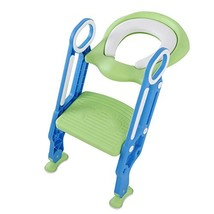 Potty Training Toilet Seat with Step Stool Ladder, Kid Baby Children Tod... - $29.78