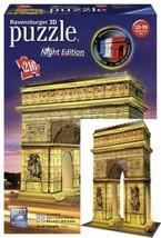 Ravensburger Puzzle 3D Arc Triomphe Illuminé 216 pièces, 12522  - $41.73