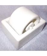 Vintage White IDL Senior Stamp Porcelain 2 inch Office Moistener Carlsta... - $12.95