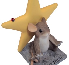 Charming Tails A Star in the Making 82/117 - Yellow Star with free lapel... - $15.99
