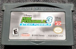 Disney's Kim Possible 3: Team Possible (Nintendo Game Boy Advance, 2005)... - $5.01