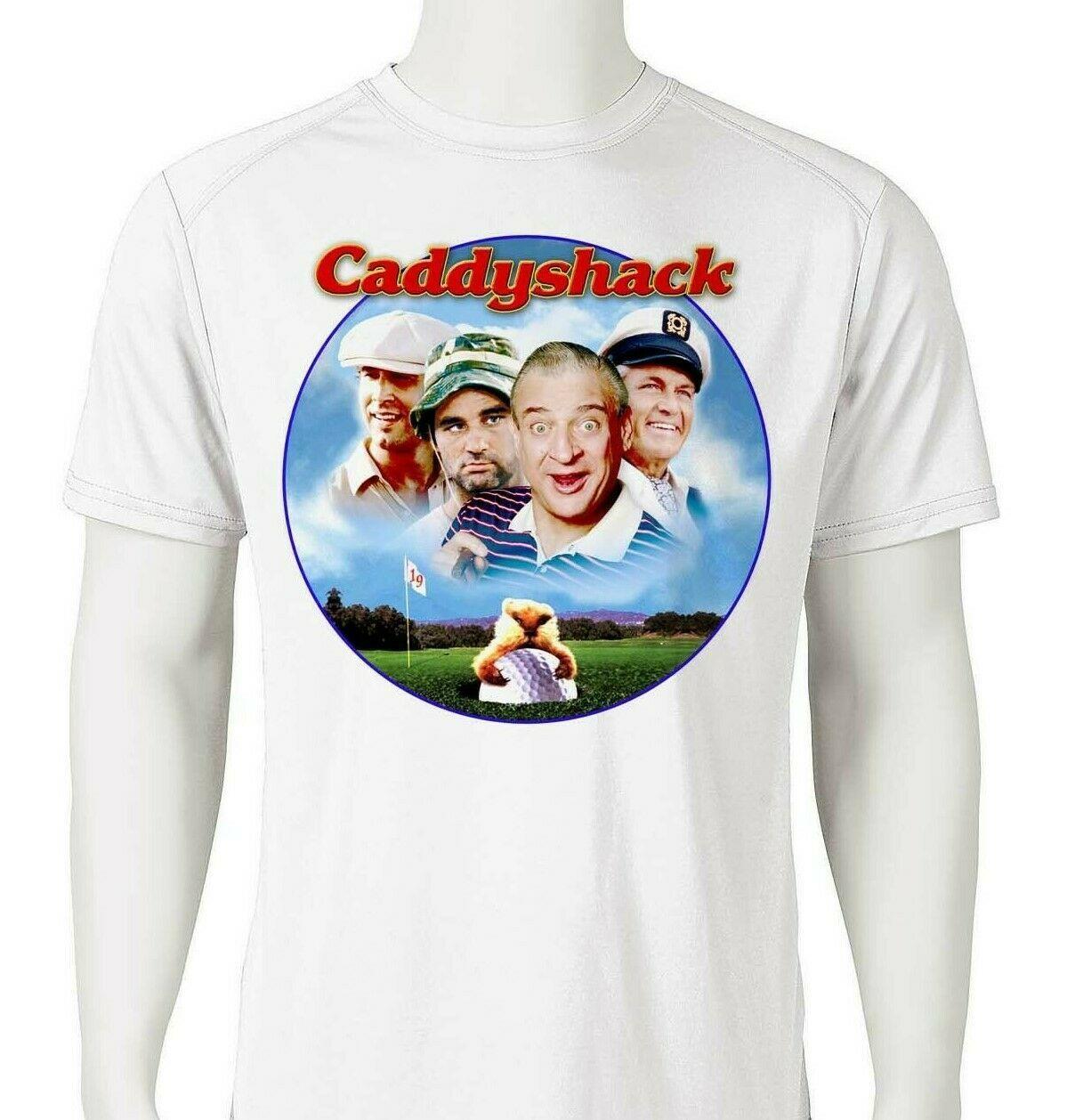 Caddyshack dri fit graphic t shirt moisture wicking retro 80s movie spf tee