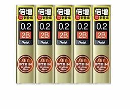 Pentel-stationery-Mechanical pencil core B C272W-2B 5pcs - $12.77