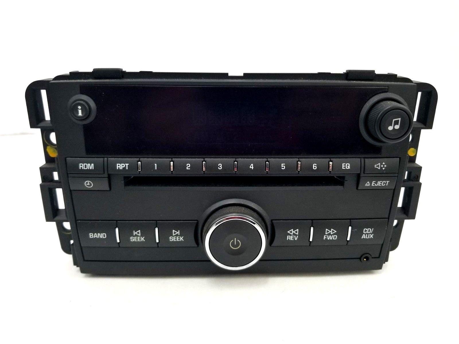 2006 - 2009 Chevrolet Monte Carlo Car Stereo Malibu Impala Radio CD/Aux 15850677