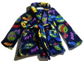 Nickelodeon Ninja Turtle kids Fleece Robe--Pre-Owned--SZ 4/5 - $8.00