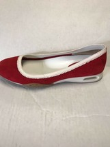 Cole Haan Women's Shoes G Series Red Suede w/ White Patent Slip On Size 7 B - $45.54