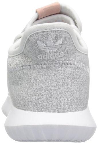 adidas Originals Womens Tubular Shadow Running Shoe White/Grey/White BY9735