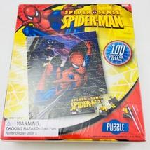 Spider Man Spider Sense 100 Piece Puzzle Marvel Comics Spidey and Venom - $5.86