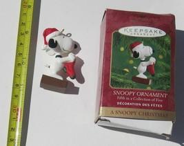 Hallmark Keepsake SNOOPY Peanuts Christmas Ornament 50th Anniversary 201... - $10.79